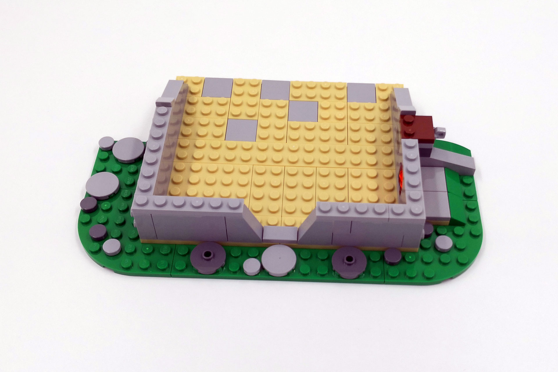 LEGO 21316 The Flintstones - Bauschritt 2