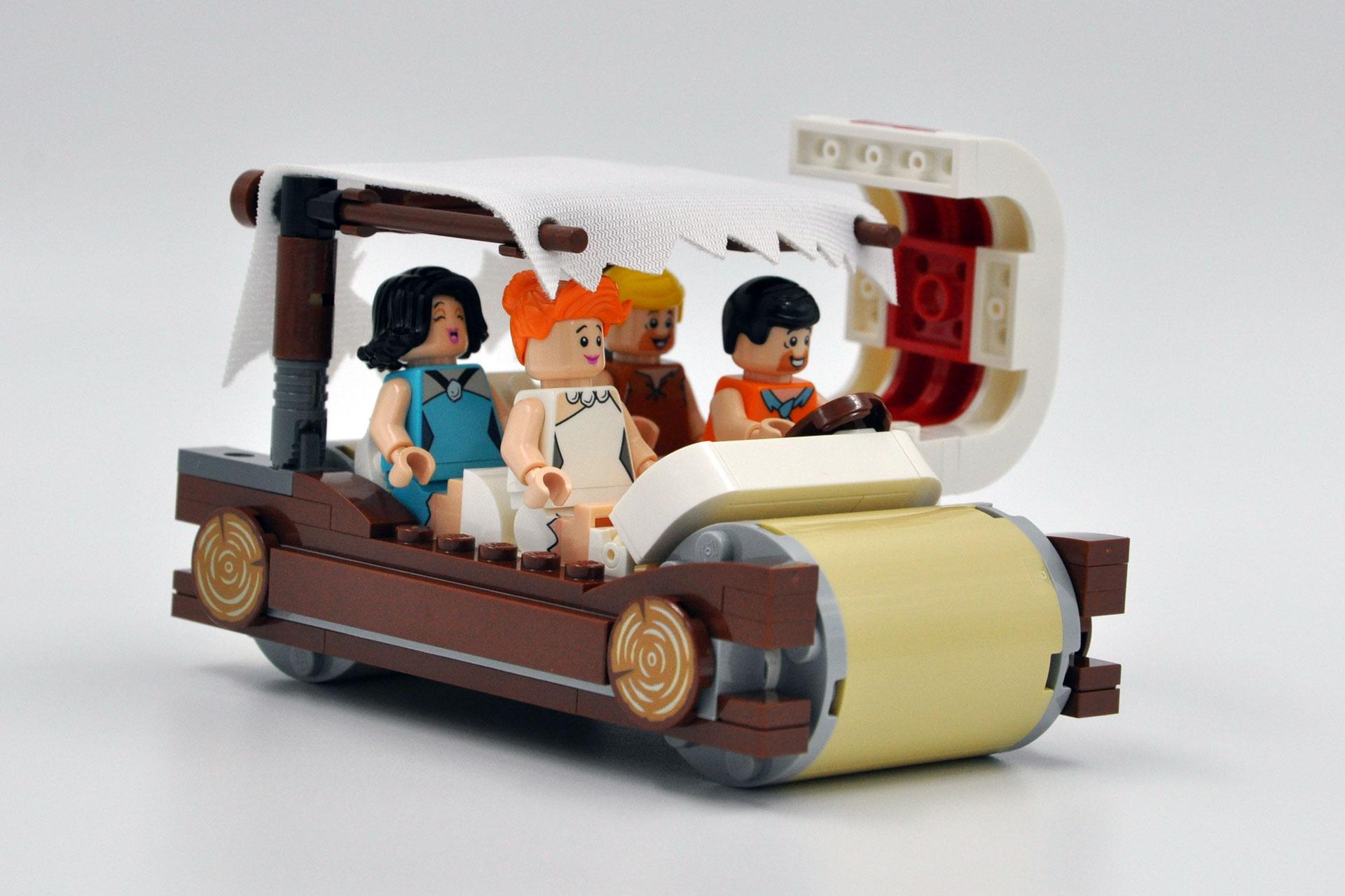 LEGO 21316 The Flintstones - Auto