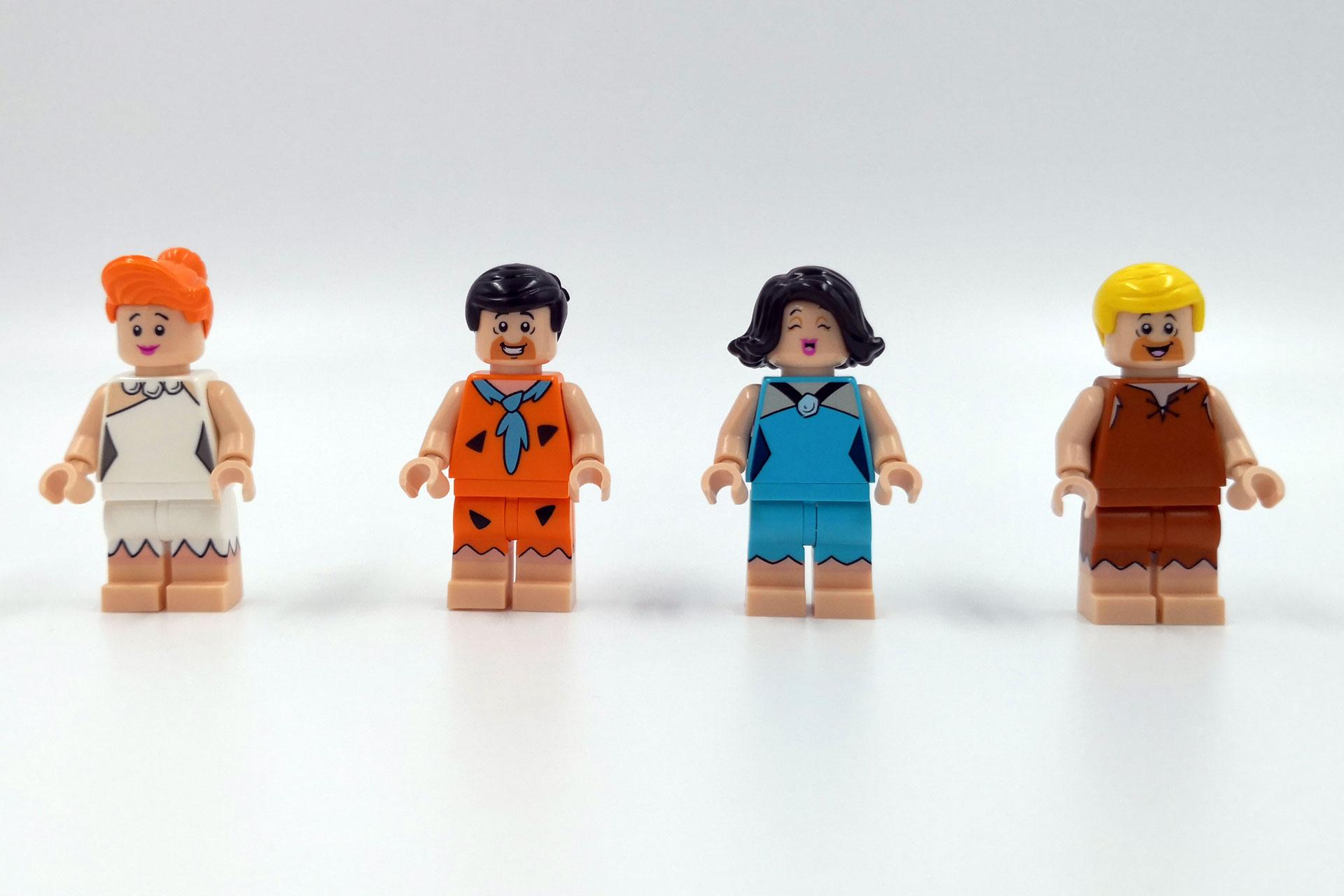 LEGO 21316 The Flintstones - Die Minifiguren