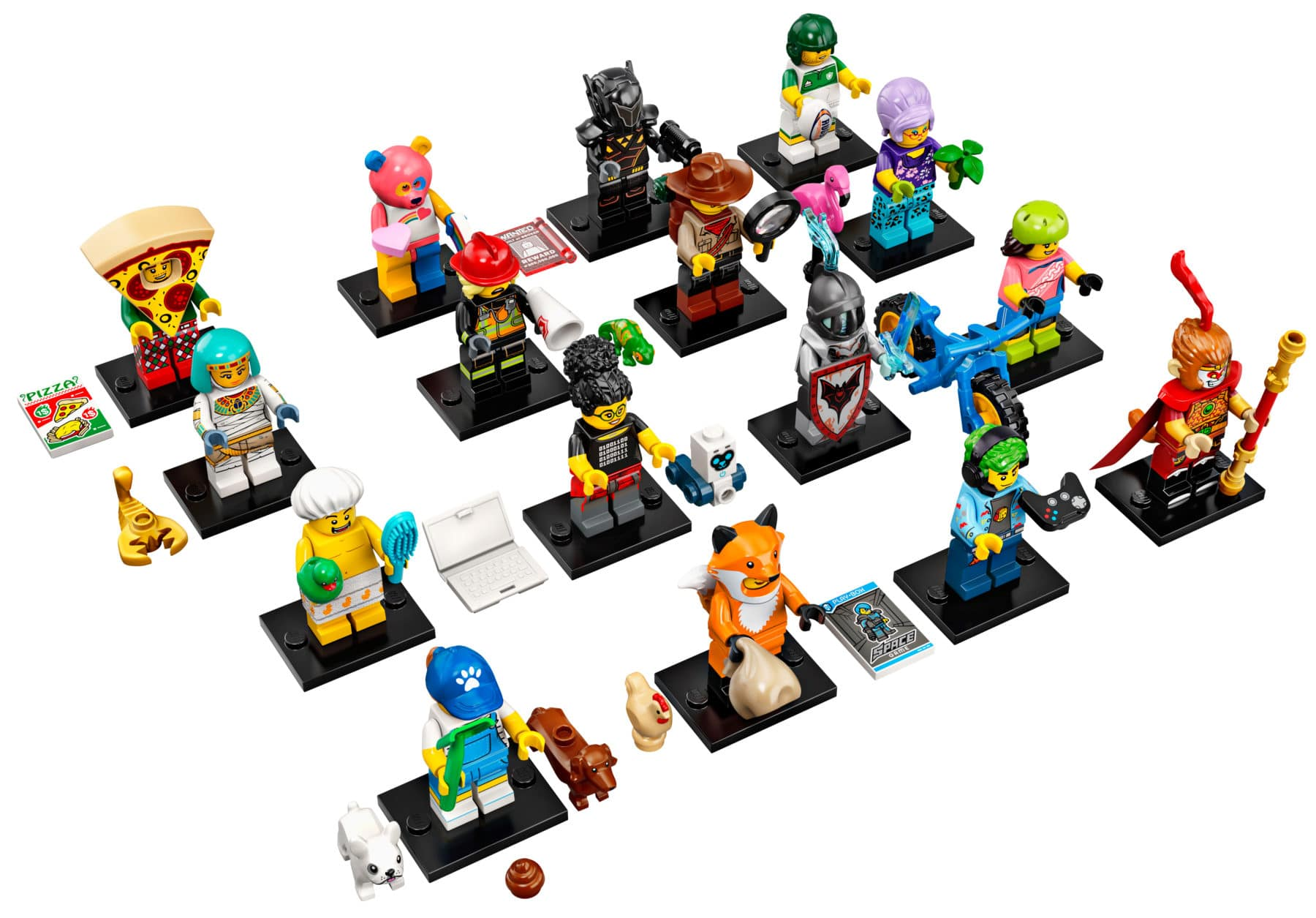 LEGO 71025 Minifiguren Sammelserie 19