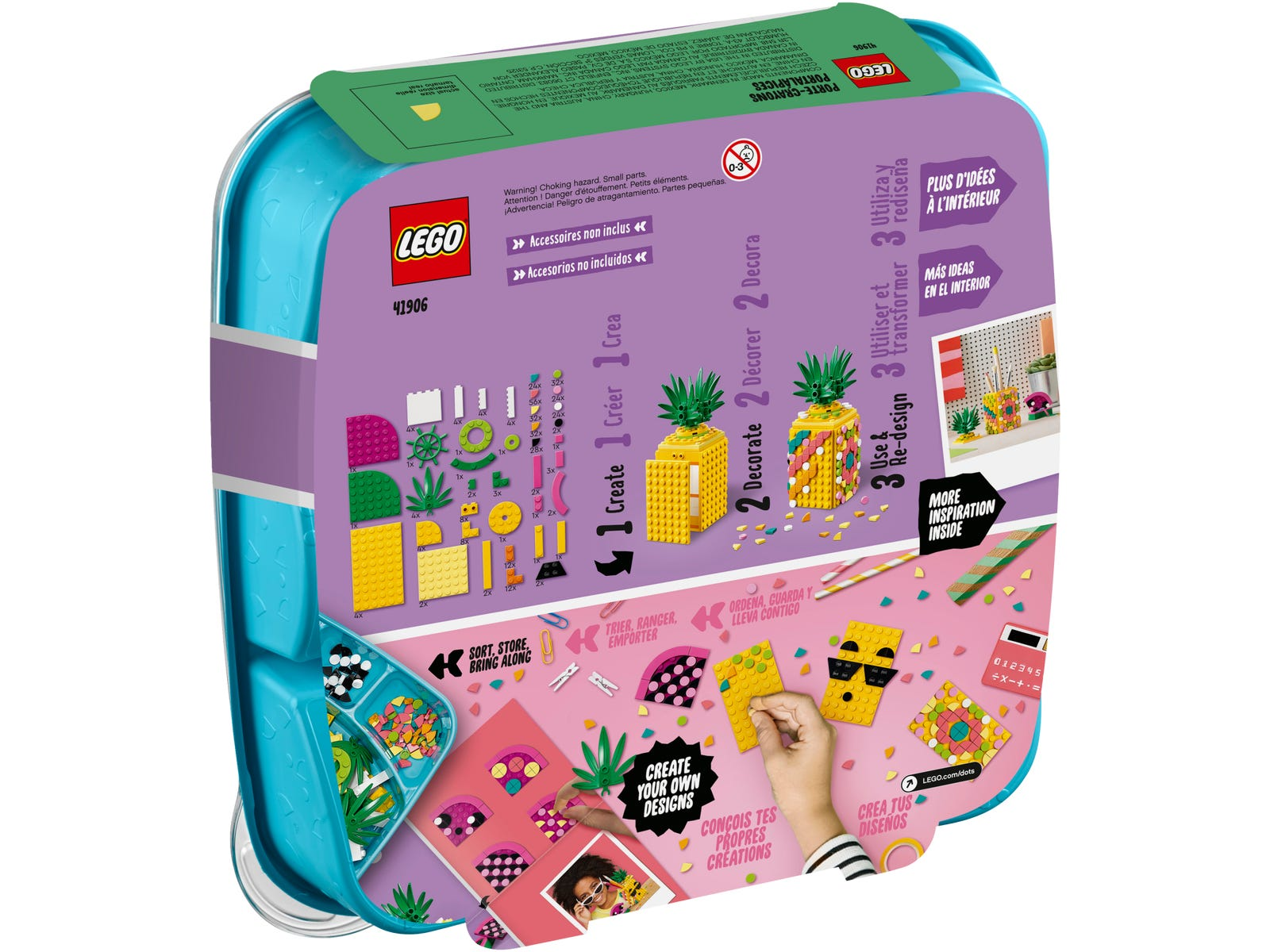 LEGO® DOTS 20   Ananas Stiftehalter +++ NEU & OVP +++   eBay